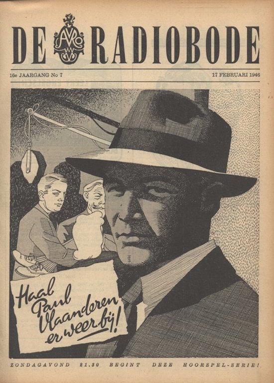 Cover radiogids.Haal Paul Vlaanderen er weer bij!