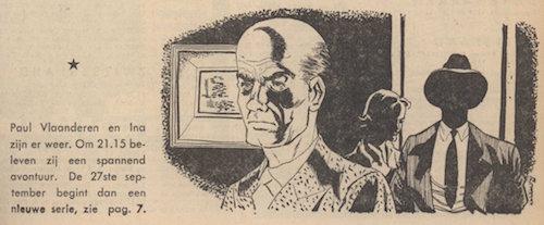 Illustratie. Paul en Ina Vlaanderen incognito.