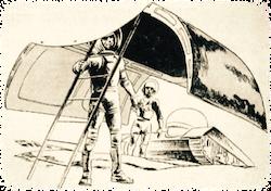 Illustratie uit de radiogids.