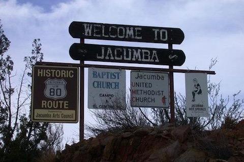 Welkom in Jacumba.