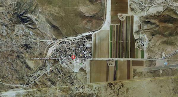Satellietfoto van Jacumba.