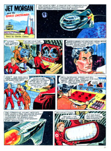Pagina 1. Jet Morgan and the Space Castaway