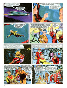 Pagina 2. Jet Morgan and the Space Castaway
