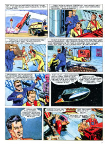 Pagina 3. Jet Morgan and the Space Castaway