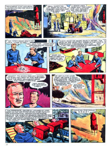 Pagina 4. Jet Morgan and the Space Castaway