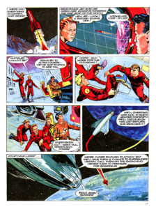 Pagina 5. Jet Morgan and the Space Castaway