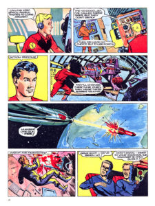 Pagina 6. Jet Morgan and the Space Castaway