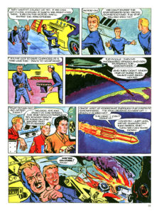 Pagina 7. Jet Morgan and the Space Castaway