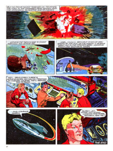 Pagina 8. Jet Morgan and the Space Castaway