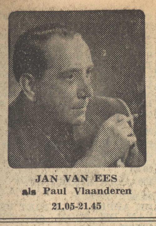 Foto van Jan van Ees bij deel 2. Paul Vlaanderen en het Jonathan mysterie.