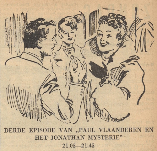 Deel 3. Paul Vlaanderen en het Jonathan mysterie.