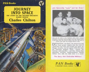 Cover boek Journey into Space.