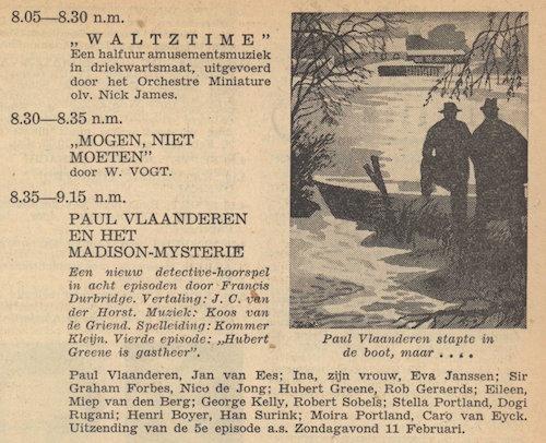 Deel 4. Paul Vlaanderen en het Madison mysterie.