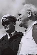 Mordechai Limon en David Ben Goerion