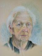 Portrettekening van Léon Povel i(2008).