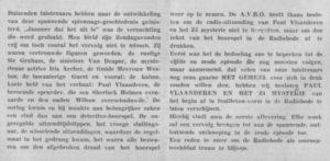 Toelichtig uit de Radiobode van 7 juni 1940.