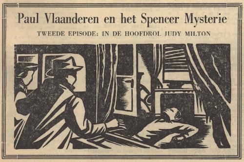 Deel 2. Paul Vlaanderen en het Spencer mysterie.