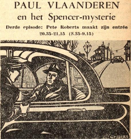 Deel 3. Paul Vlaanderen en het Spencer mysterie.