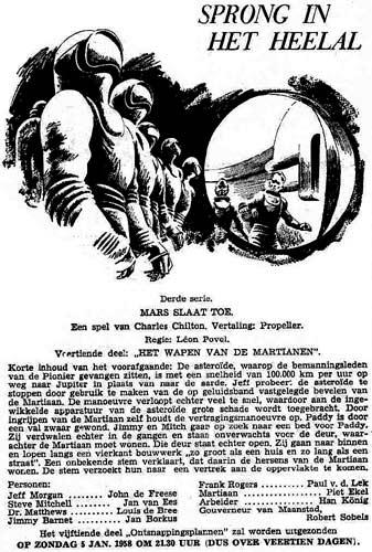Deel 14. Aankondiging: Mars slaat toe