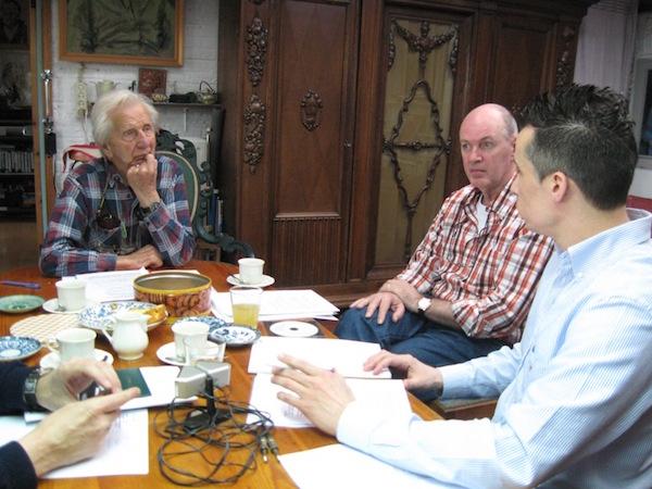 Besprekingen bij Léon Povel thuis - 28 maart 2009.