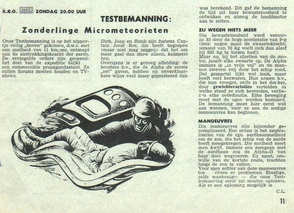 Deel 4. Aankondiging: Testbemanning informatie
