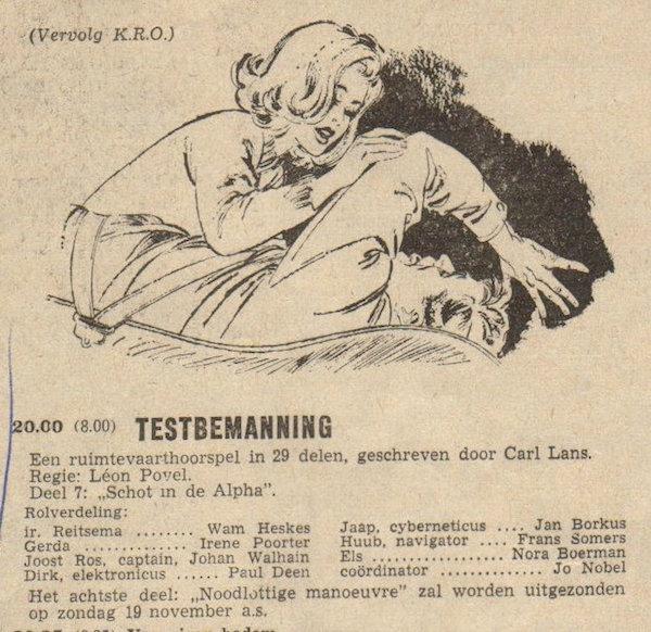 Deel 7. Aankondiging: Testbemanning