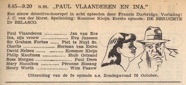 Deel 2. Paul Vlaanderen en Ina.