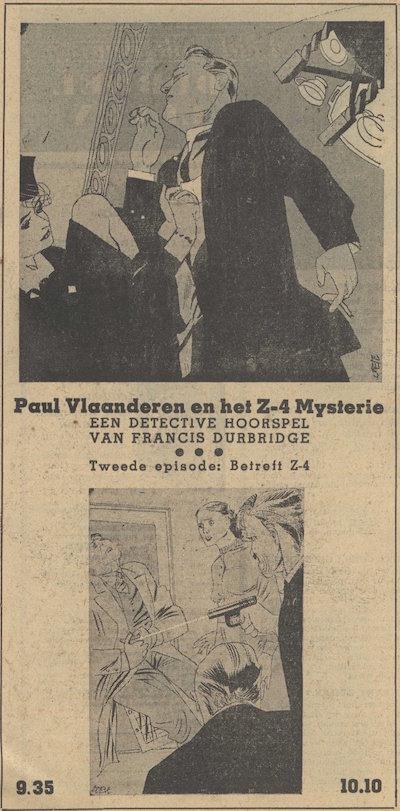 Deel 2. Paul Vlaanderen en het Z4 mysterie.