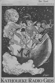 Illustratie van een productie door Léon Povel.