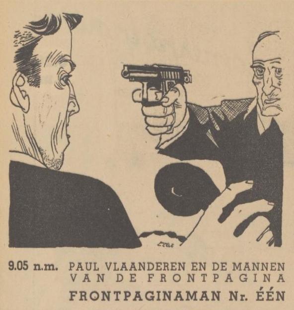 Deel 8 Paul Vlaanderen en de mannen van de frontpagina