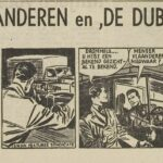 Paul Vlaanderen strip De dubbelganger 01