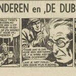 Paul Vlaanderen strip De dubbelganger 32
