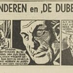 Paul Vlaanderen strip De dubbelganger 38