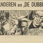 Paul Vlaanderen strip De dubbelganger 43