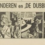 Paul Vlaanderen strip De dubbelganger 44