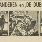 Paul Vlaanderen strip De dubbelganger 45