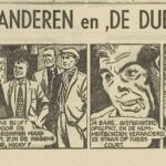 Paul Vlaanderen strip De dubbelganger 50