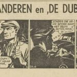 Paul Vlaanderen strip De dubbelganger 51