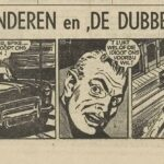 Paul Vlaanderen strip De dubbelganger 55