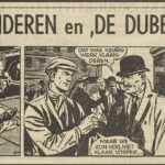 Paul Vlaanderen strip De dubbelganger 57