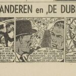 Paul Vlaanderen strip De dubbelganger 62