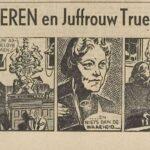 Paul Vlaanderen strip Juffrouw Truelove's obsessie 01