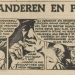 Paul Vlaanderen strip: Project M 60 einde