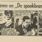 Paul Vlaanderen strip De spookbrandweerman 40