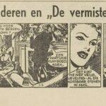 Paul Vlaanderen strip De vermiste Tweeling 01