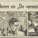 Paul Vlaanderen strip De vermiste Tweeling 27
