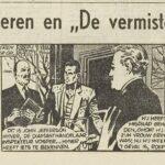 Paul Vlaanderen strip De vermiste Tweeling 66