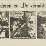 Paul Vlaanderen strip De vermiste Tweeling 81 einde