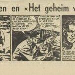 Paul Vlaanderen strip Het geheim van de safari 01