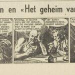 Paul Vlaanderen strip Het geheim van de safari 12